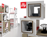 Illy Product Display