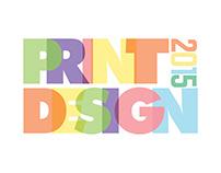 Print Design 2015