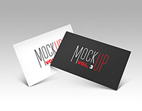 FREEBIE- Business card Mockup_vol.3