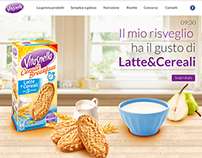 Vitasnella Bakery product website