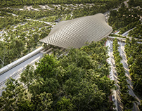 Tulum Train Station in Mexico designed by AIDIA STUDIO