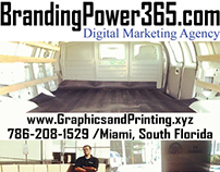 Graphics, Printing & Distribution #BrandingPower365