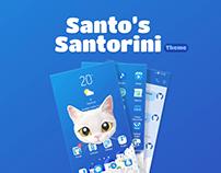 Santo's Santorini Theme