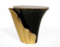 YASMINE Side Table   By KOKET