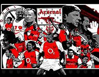 Arsenal FC Print