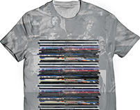Vinyl Album T-Shirt Design