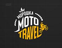 Дизайн логотипа. Туры на мотоциклах в республике Коми.