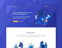 Tyscion I Blockchain website