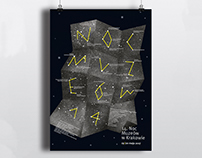 Night of Museums in Kraków poster / project