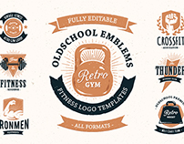Retro Gym | Emblems Pack