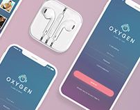 Oxygen - Music App Design