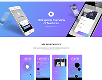 LeadGen - Multipurpose  Landing Page - App Launching