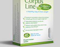 Corpus Line // Packaging design