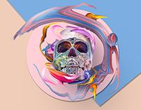 holo skull