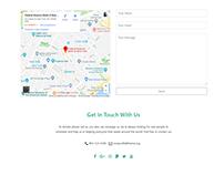 Contact Page - Nonprofit WordPress Theme