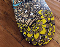 Butterfly Skateboard Design