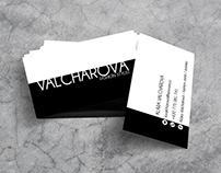 VALCHAROVÁ - business card