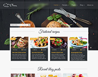 Eleon - template for recipes and food