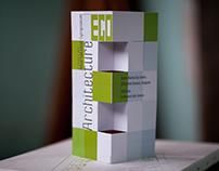 "Design flyers ""Eco-architecture"""
