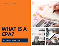 David Auer | What Is a CPA?