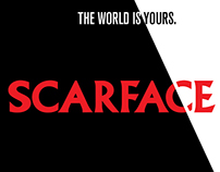 Scarface   Minimalistic Posters