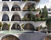 Queluz building visualization