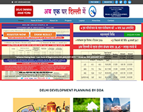 Delhi Development Planning by DDA