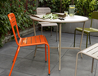 Kilby outdoor table for Blooma