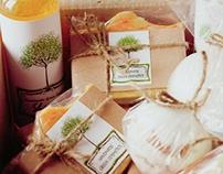 Handmade Green Cosmetics. Branding & Identity
