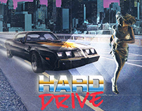 """""""Hard Drive"""" Film Poster Concept"""