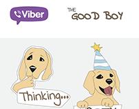 Viber sticker character