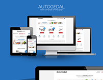 AUTOGEDAL.RO - Responsive landing page