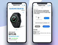 Shopping App UI Designs