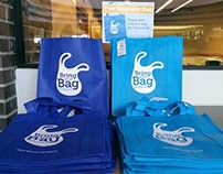Bring Your Bag Kirkland Logo + Outreach Campaign
