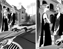 B&W Hollywood
