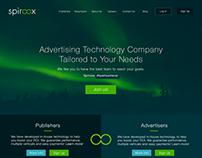 Spiroox Website wireframes