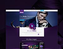 Roku | UX & UI Concept
