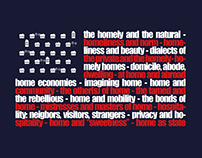 Homeliness, Domesticity and Security conference poster