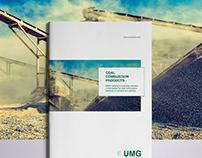 Design brochure for UMG INVESTMENTS
