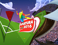 Liga Mx - Soccer Stadium : 3D Compositing
