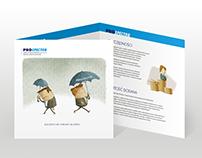 Insurance broker leaflet