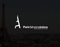 Paris fait son cinéma - Branding