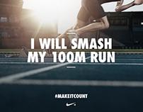 Nike+ Kinect Training — iOS App