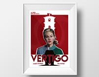 Vertigo - Alfred Hitchcock - Poster