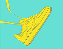 "Nike ""Air Force"" Illustration"
