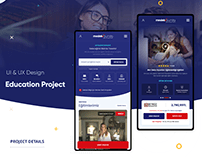 Meslekburda Web+Mobil App UI&UX Design