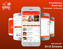 Foodwa UI/UX Kit | Food Delivery Mobile App