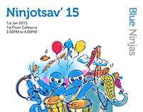 Fun Poster for NINJOTSAV 2015