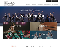 School of Fine Arts Website Preview