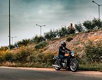 Triumph T120 Bonneville / By Sourav Mishra.